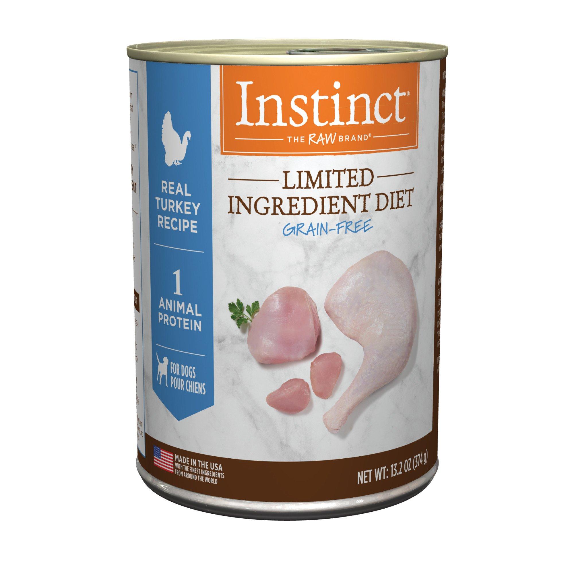 Nature's Variety Instinct Grain-Free Limited Ingredient Diet Turkey Canned Dog Food