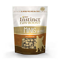 Nature's Variety Instinct Duck Raw Boost Minis Dog Treats