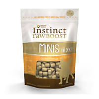 Nature's Variety Instinct Chicken Raw Boost Minis Dog Treats