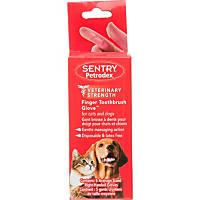 Sentry Petrodex Veterinary Strength Finger Toothbrush Glove