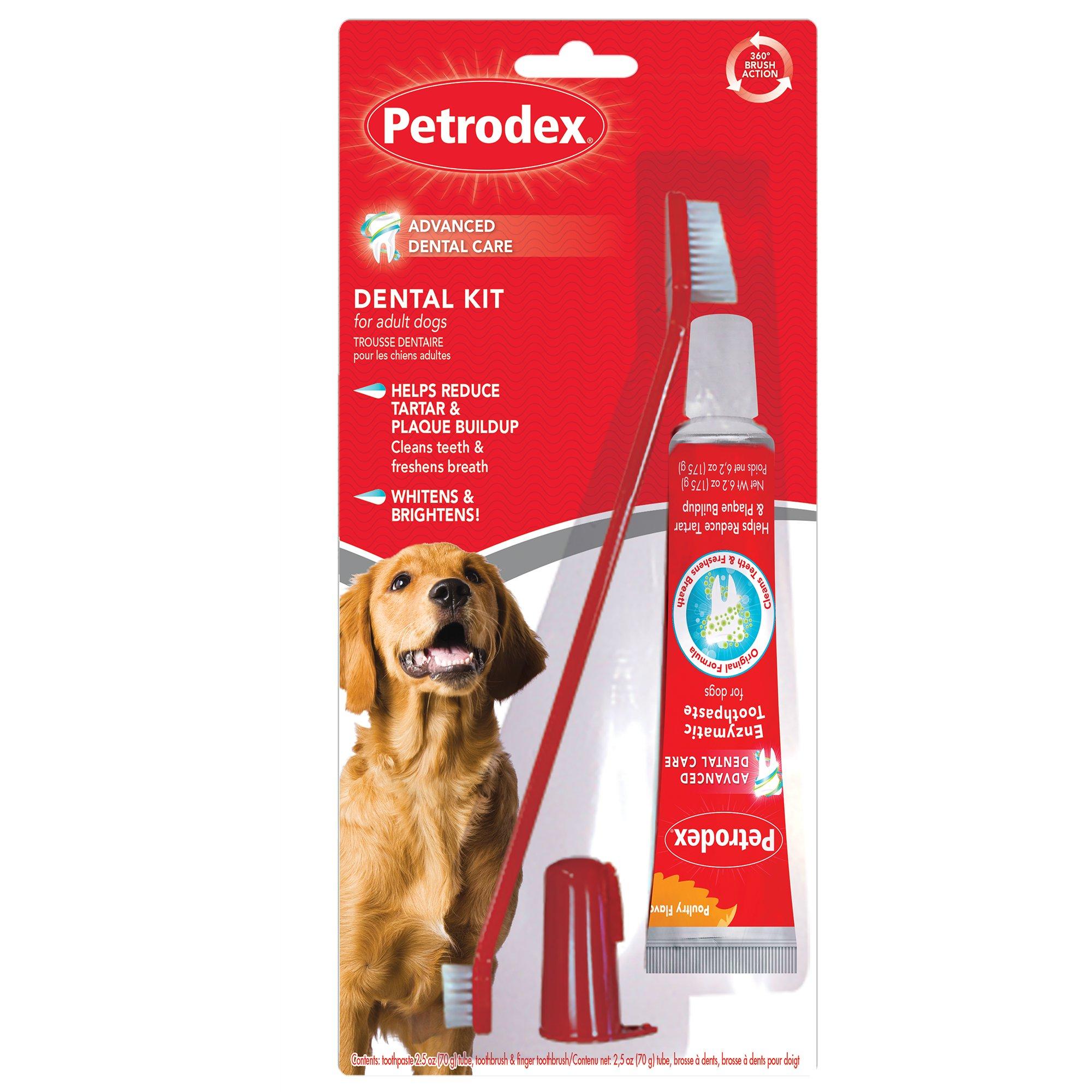 Sentry Petrodex Veterinary Strength Dog Dental Care Kit