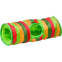 Petco Small Animal Crinkle Tunnel in Stripes