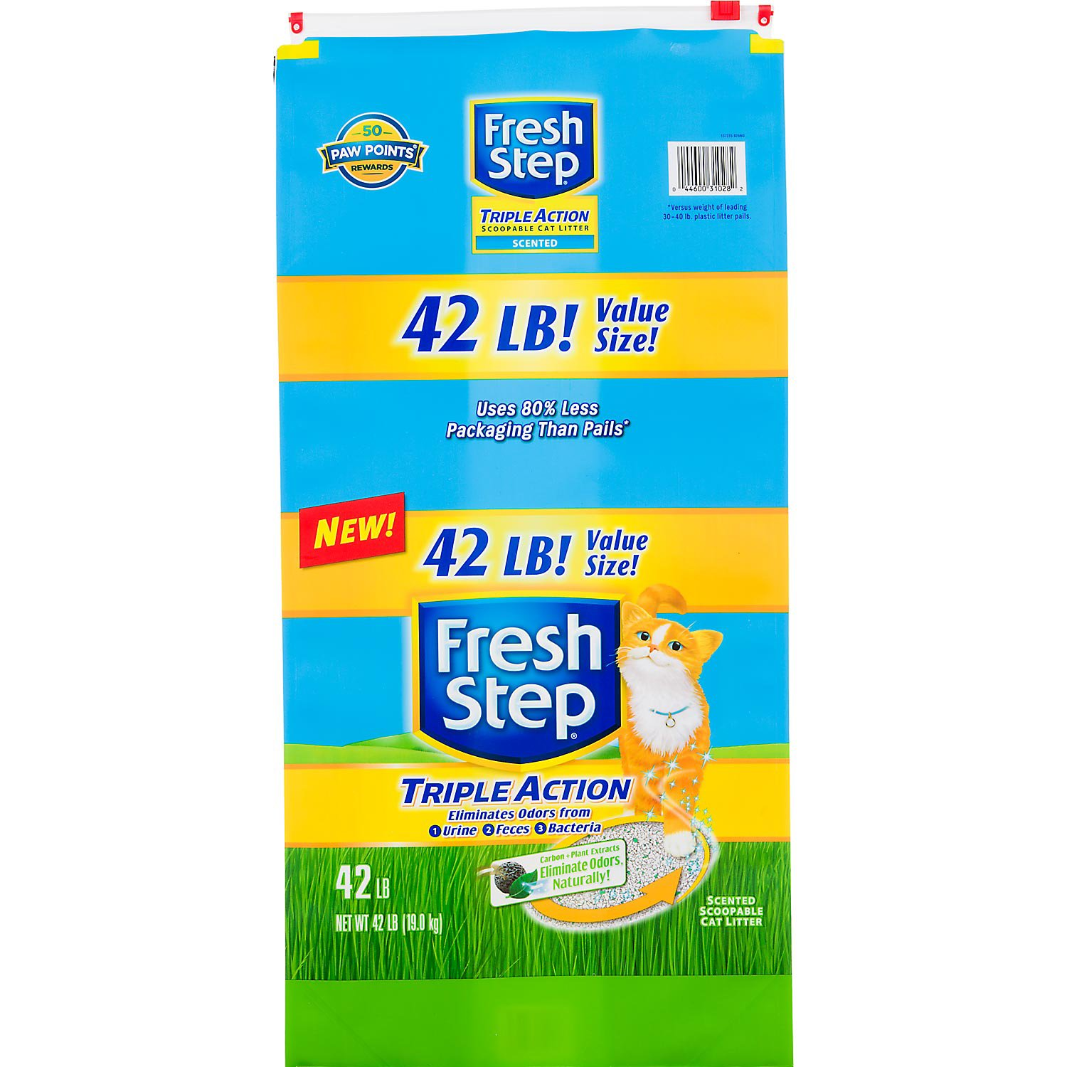 Fresh Step Triple Action Scoopable Cat Litter