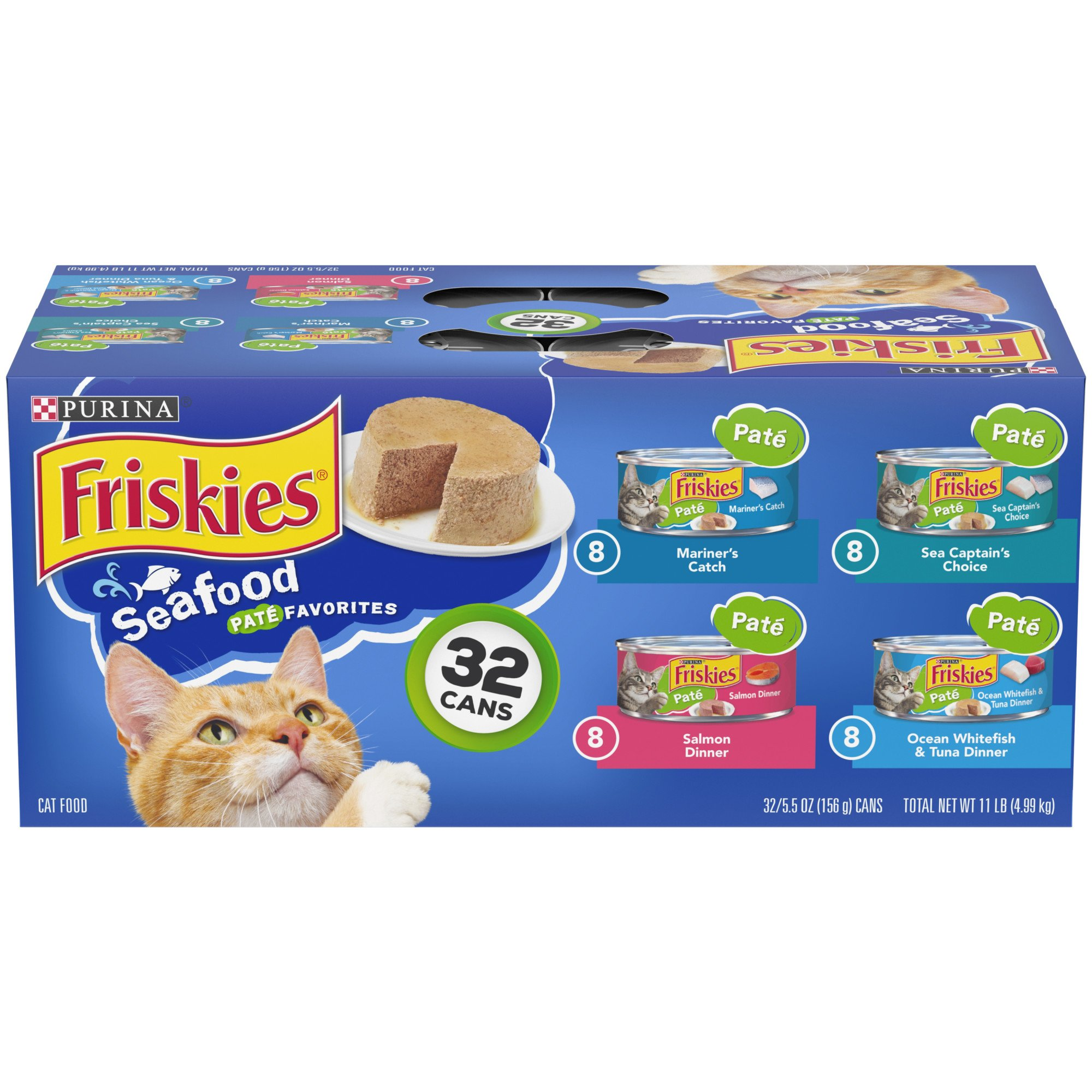 friskies saucy seafood food variety pack