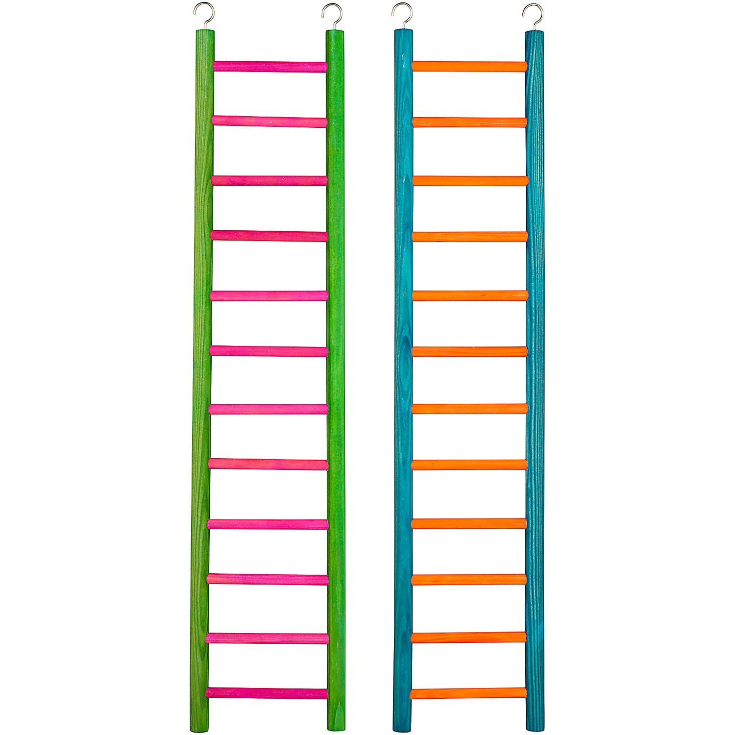 Petco 12 Step Wooden Ladder for All Birds