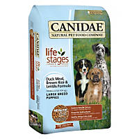 Canidae Life Stages Duck Meal Brown Rice & Lentils Large Breed Puppy Food