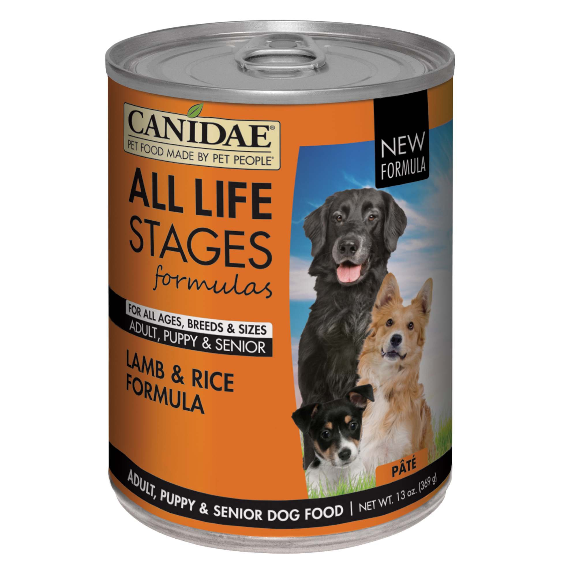 Canidae Life Stages All Life Stages Lamb & Rice Canned Dog Food