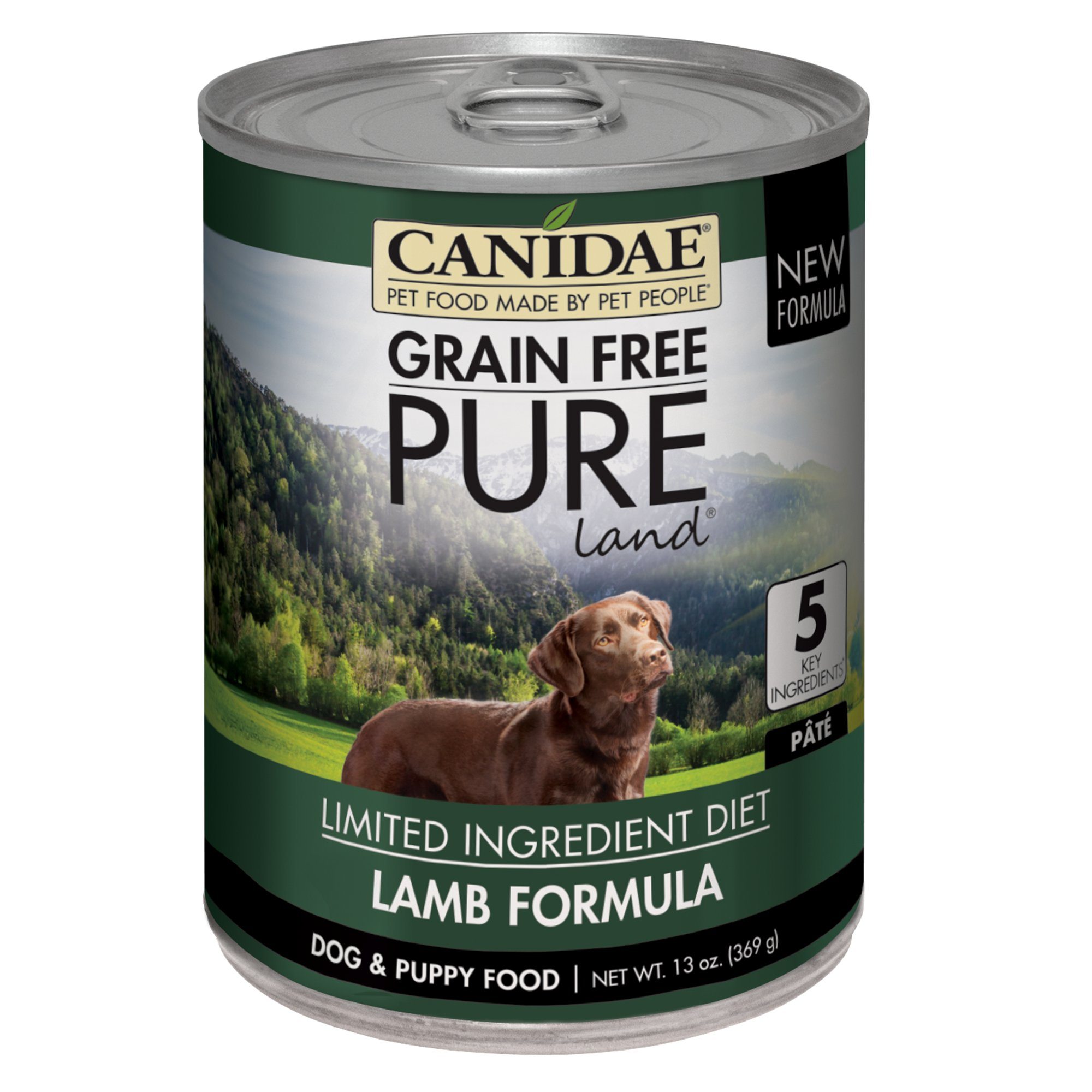 Lamb Grain Free Canned Dog Food