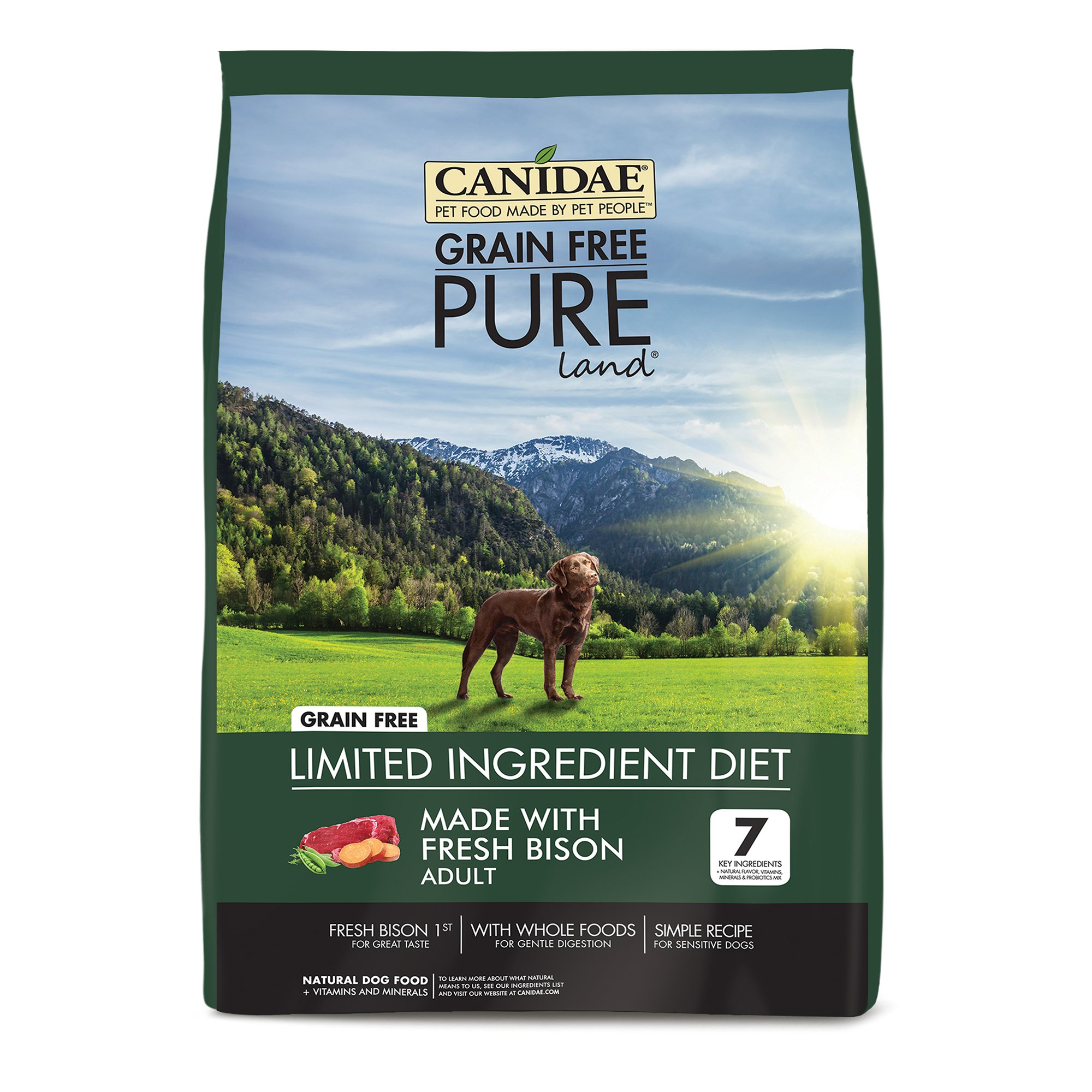 Canidae Grain Free Pure Land Adult Dog Food