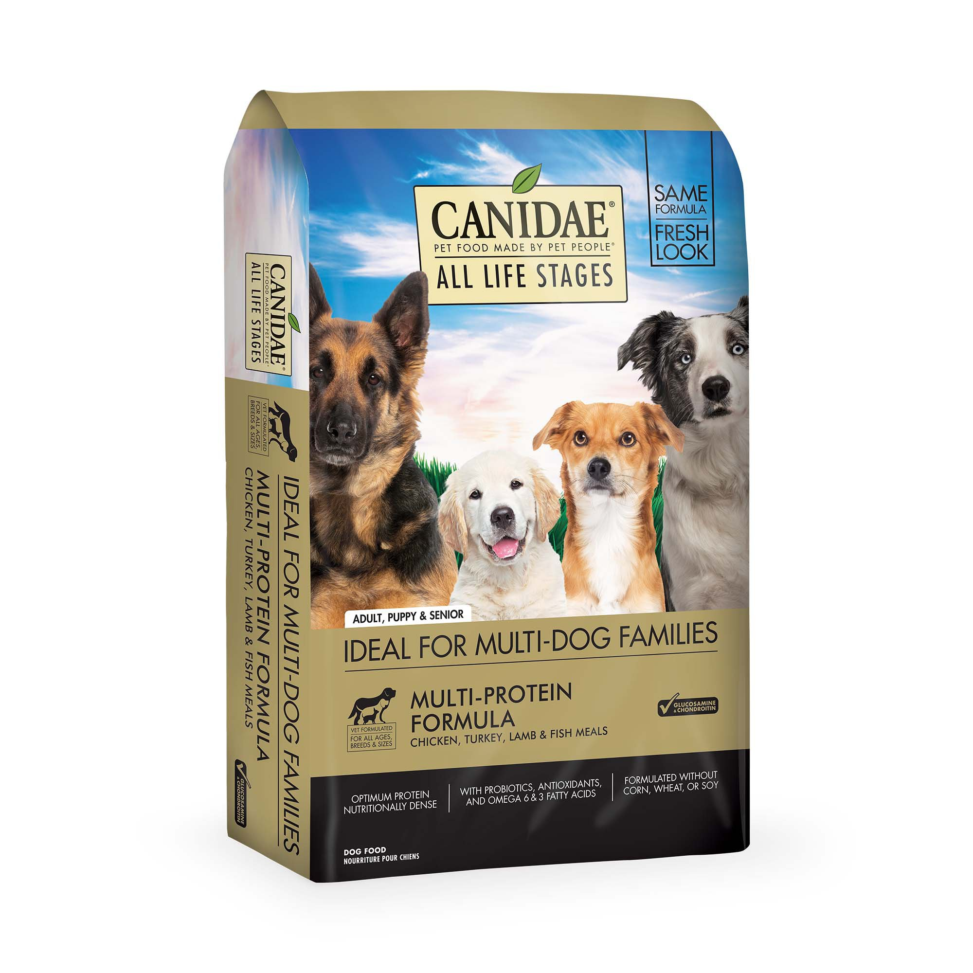 Cultivating New Ways To Do Pet Food Better. At CANIDAE ®, innovation is what our brand is built on. Thinking of new ways to do better for pets and their people .