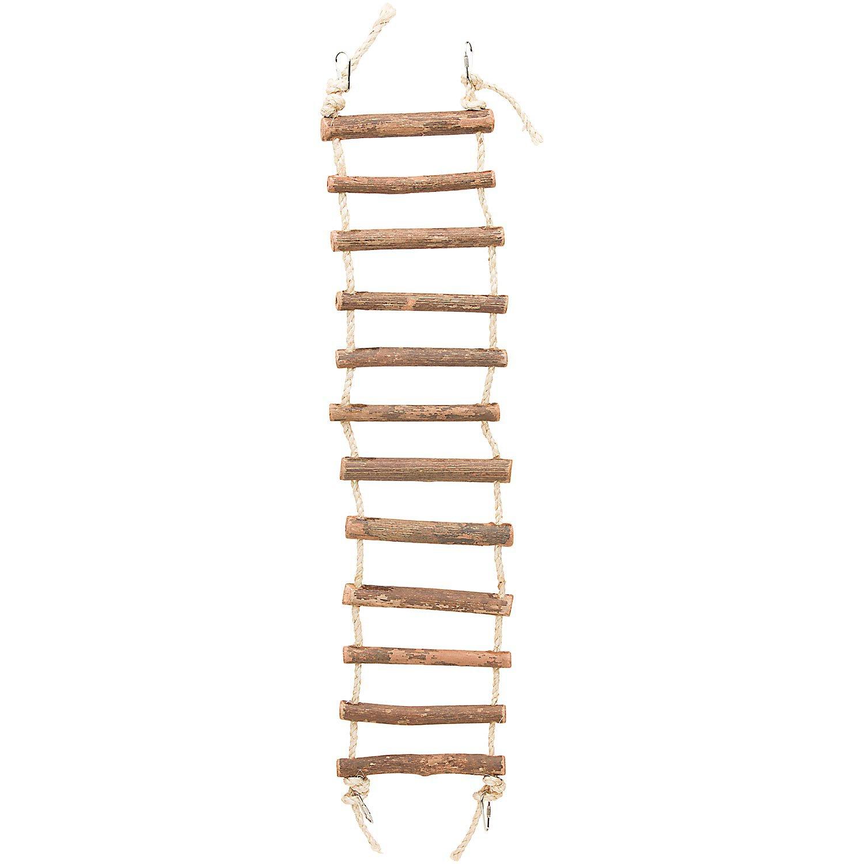 Prevue Hendryx Naturals Large Rope Ladder Bird Toy