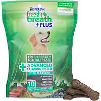 TropiClean Fresh Breath Plus Advanced Cleaning System Dental Dog Chews