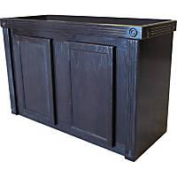 R&J Enterprises 48X18 Black Oak Empire Series 75/90/110 Cabinet