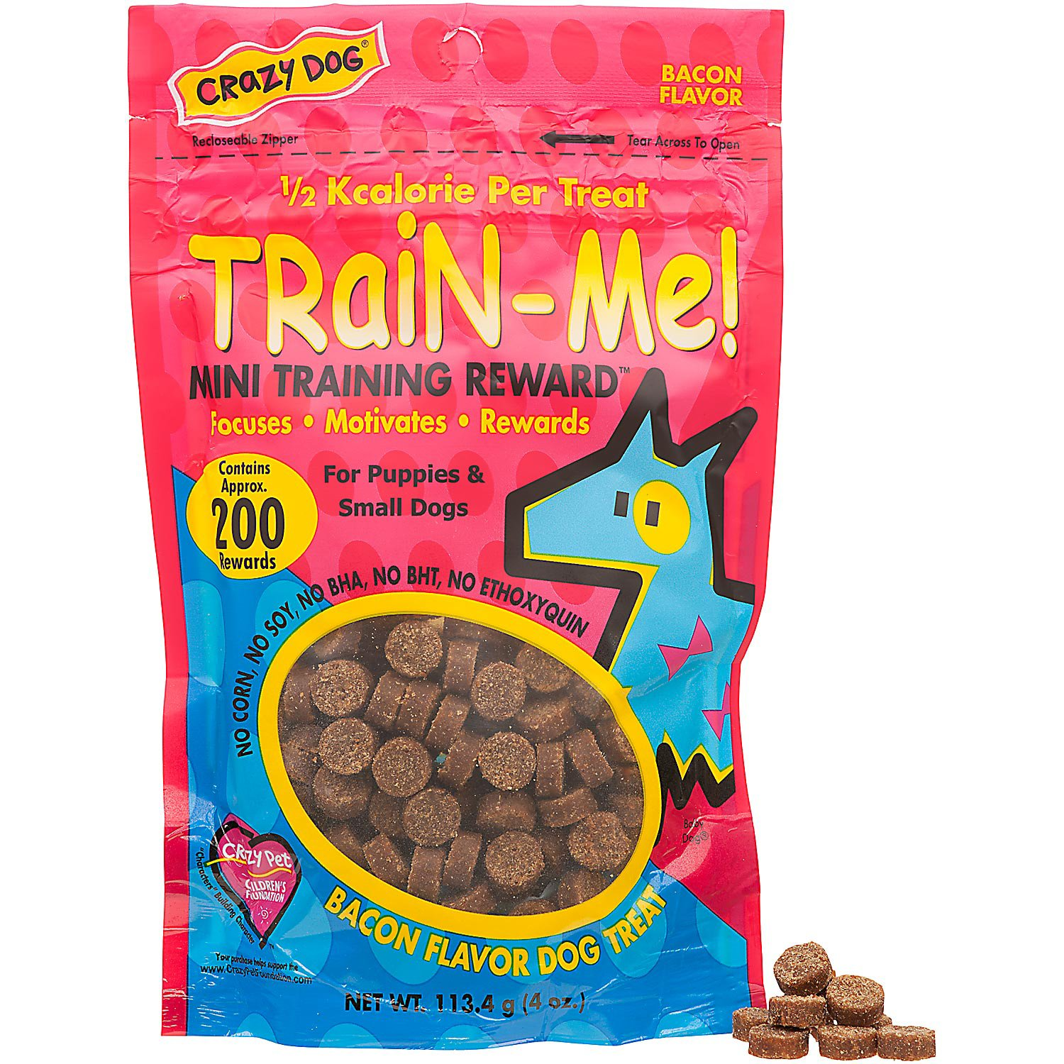 Crazy Dog Train-Me Mini Training Reward Dog Treats