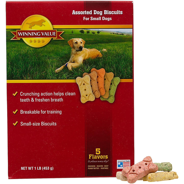 Winning Value Assorted Dog Biscuits