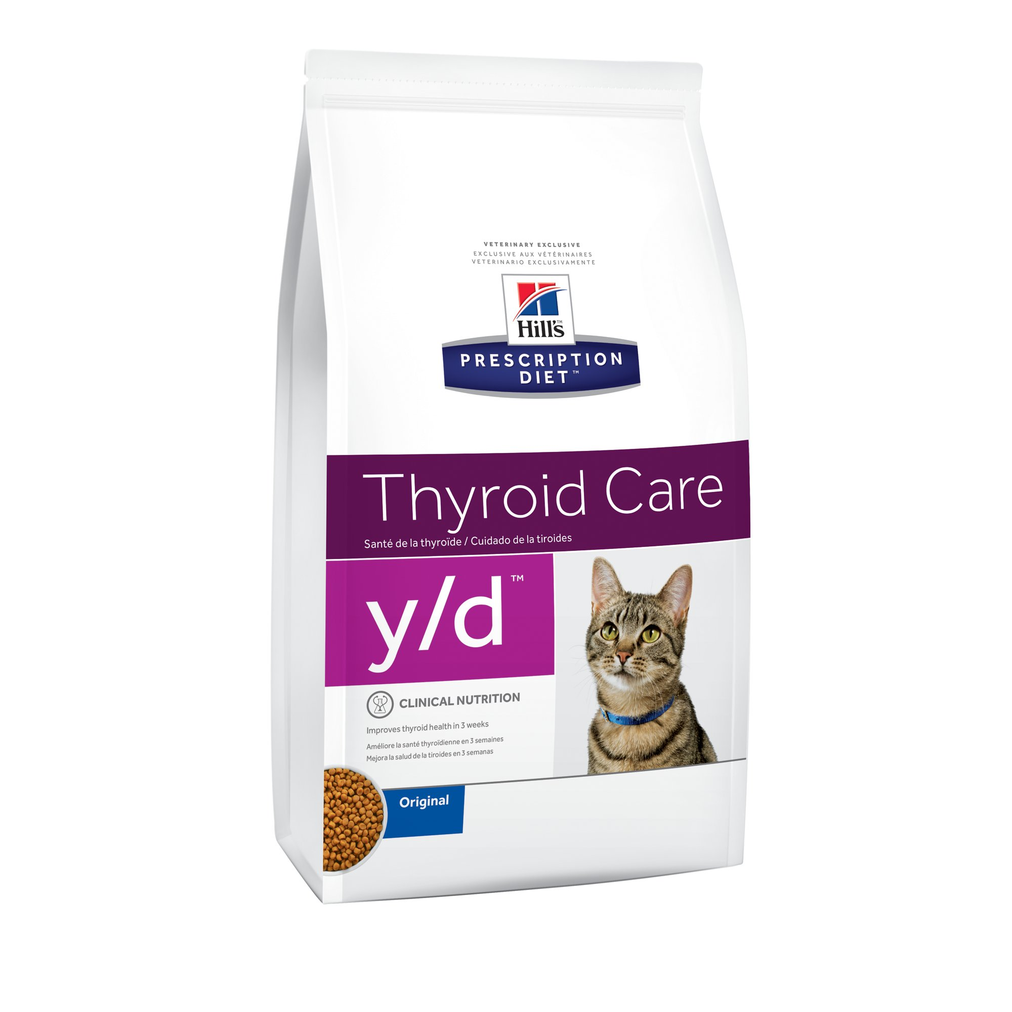 Hills Prescription Diet Thyroid Care Original Cat Food