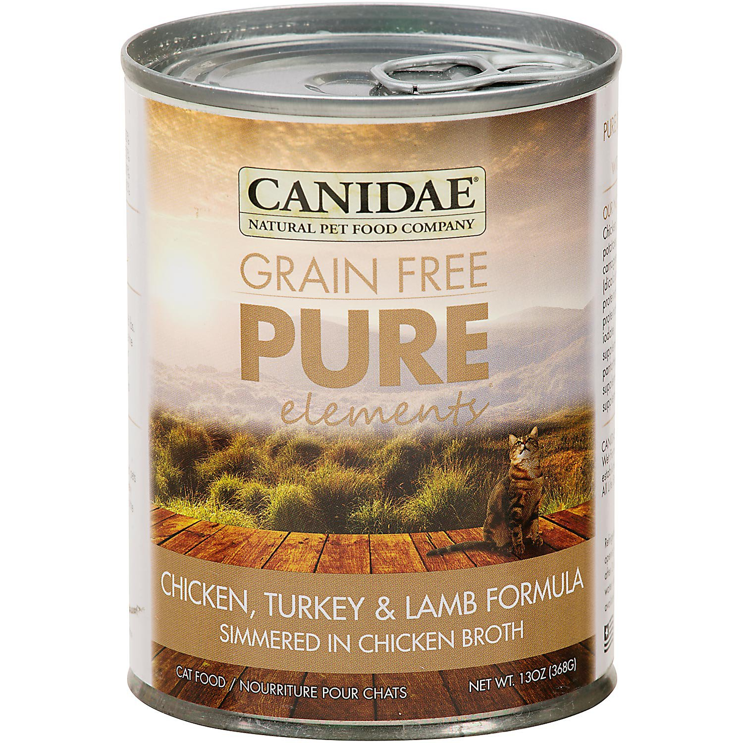 Canidae Grain Free Pure Elements Chicken, Turkey & Lamb Canned Cat Food