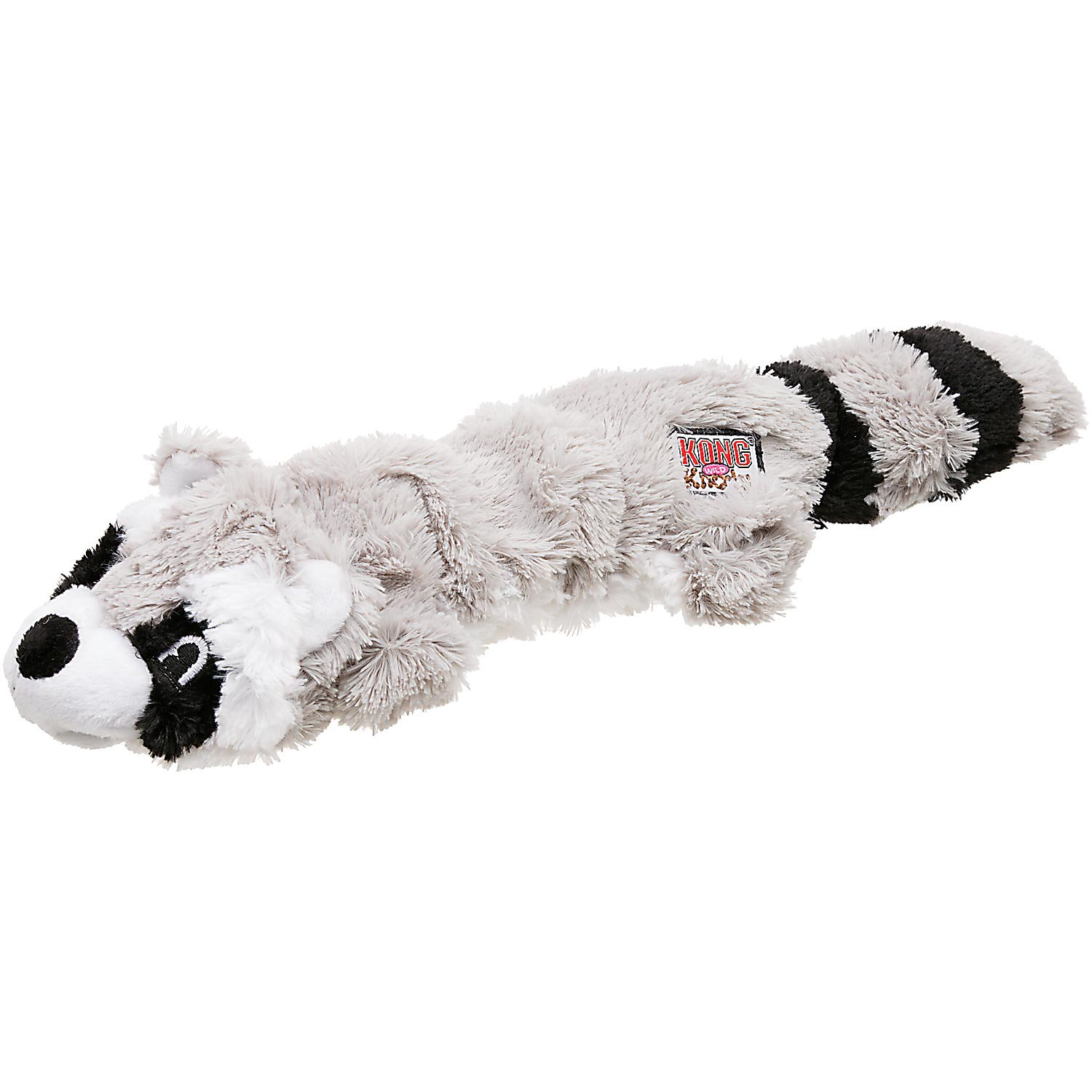 KONG Scrunch Knots Raccoon Dog Tug Toy