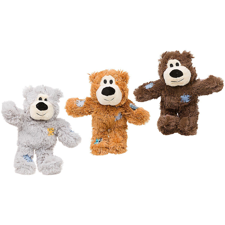 KONG Wild Knots Bears Dog Tug Toy