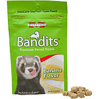 Marshall Pet Products Bandits Premium Banana Ferret Treats