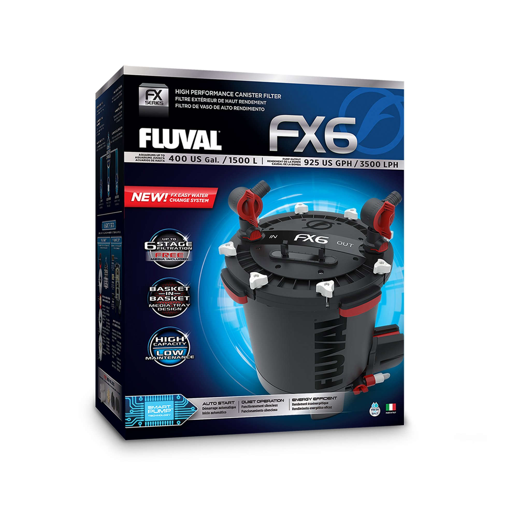 Fluval fx6 canister filter petco store for Petco fish tank filters
