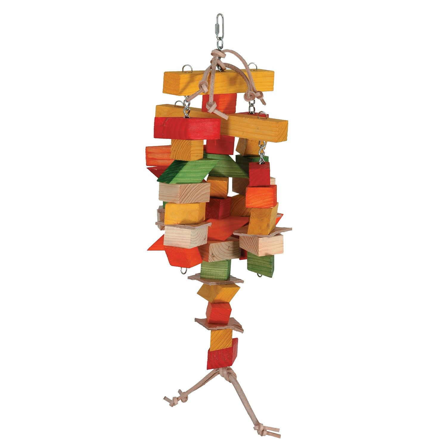 Caitec Spinning Chew Mobile Bird Toy