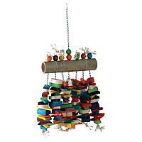 Caitec Bamboo Log Bird Toy