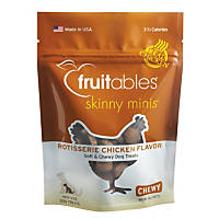 Fruitables Skinny Minis Rotisserie Chicken Soft & Chewy Dog Treats
