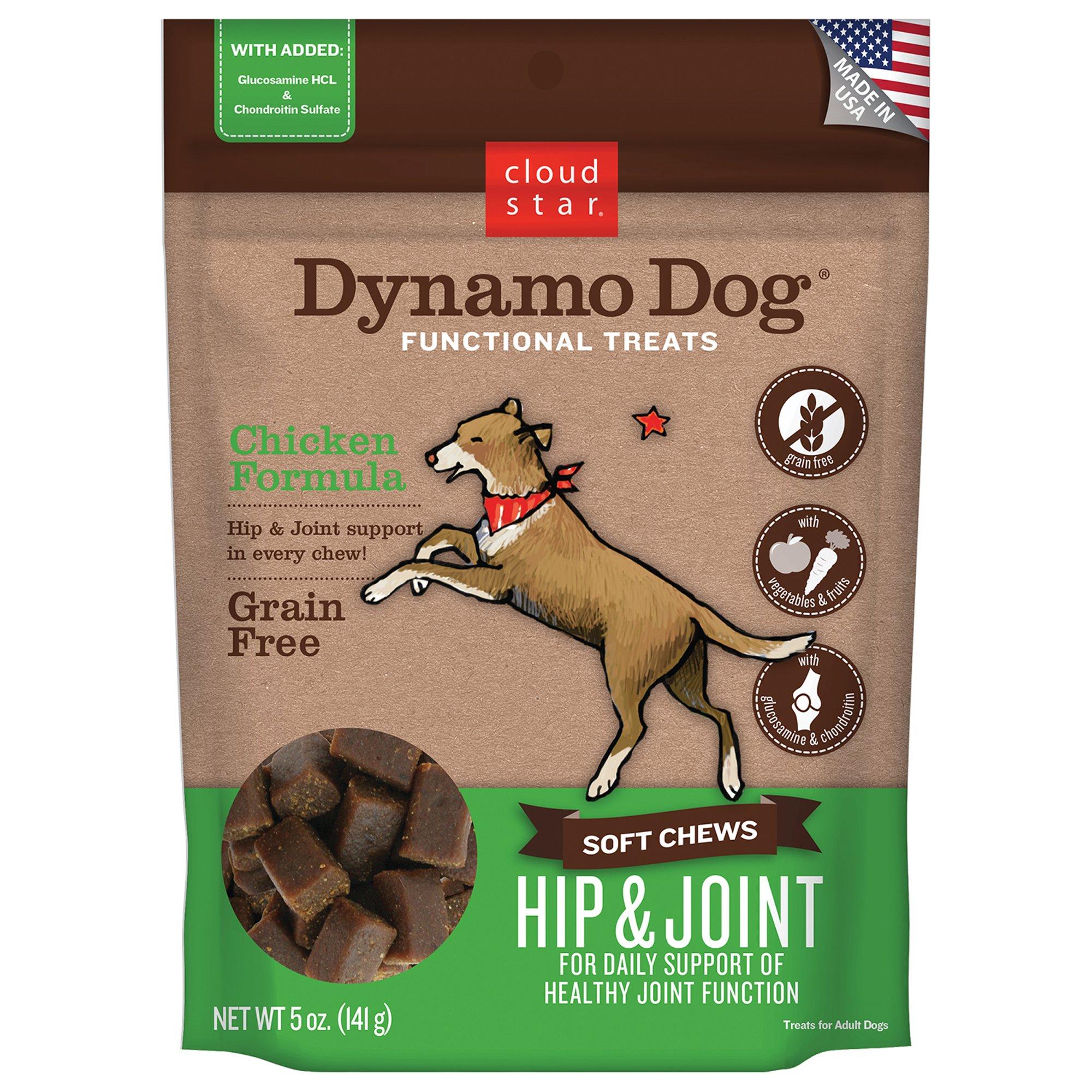 Cloud Star Dynamo Dog Hip & Joint Chicken Dog Treats