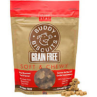 Cloud Star Buddy Biscuits Grain Free Soft & Chewy Beef Dog Treats