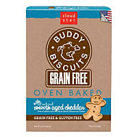 Cloud Star Buddy Biscuits Grain Free Oven Baked Cheddar Dog Treats