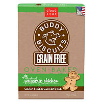 Cloud Star Buddy Biscuits Grain Free Oven Baked Chicken Dog Treats