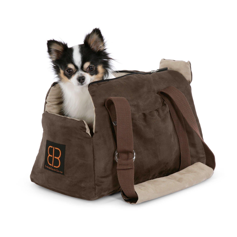Pet Ego Velvet Bitty Bag Pet Carrier