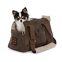 Pet Ego Velvet Bitty Bag Pet Carrier
