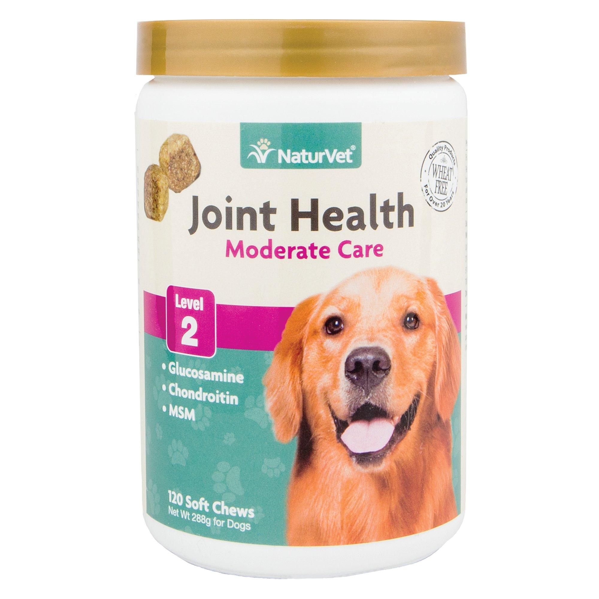 NaturVet Joint Health Level 2 Soft Chew Dog Supplement