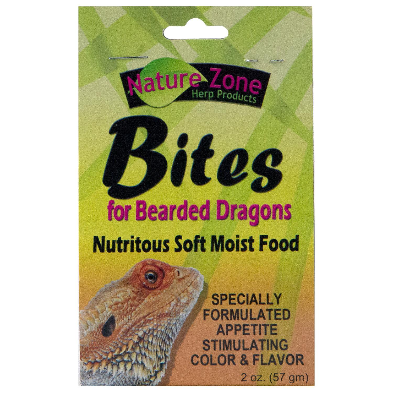Nature Zone Bites for Bearded Dragons, 2oz