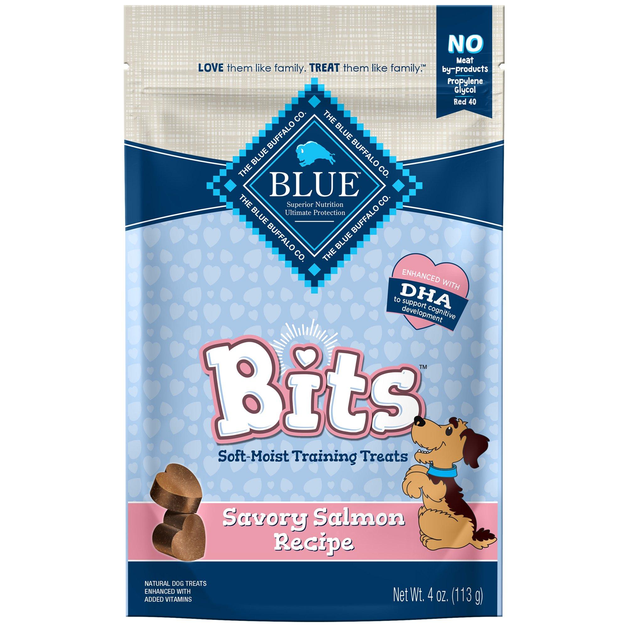 Blue Buffalo Blue Bits Salmon Dog Training Treats