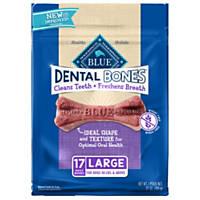 Blue Buffalo Blue Bones Large Dental Dog Chews