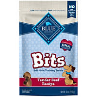 Blue Buffalo Blue Bits Beef Dog Training Treats