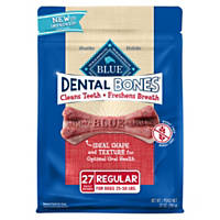 Blue Buffalo Blue Bones Natural Dog Dental Chews