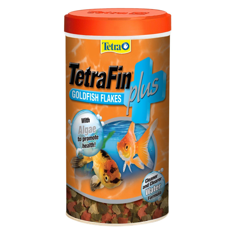 Tetrafin plus goldfish flakes petco for Petco fish food