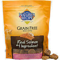 Nature's Recipe Grain Free Salmon & Potato Dog Biscuits