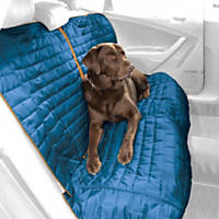 Kurgo Loft Blue & Gray Reversible Bench Seat Dog Car Seat Cover