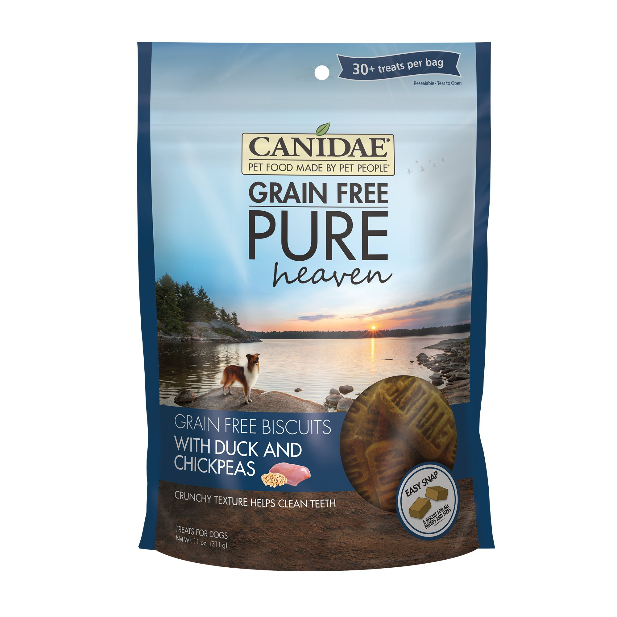 Canidae Grain Free Pure Heaven Duck & Chickpeas Dog Treats