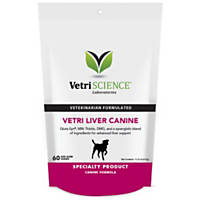 Vetri-Science Laboratories Vetri-Liver Canine Bite-Sized Dog Chews