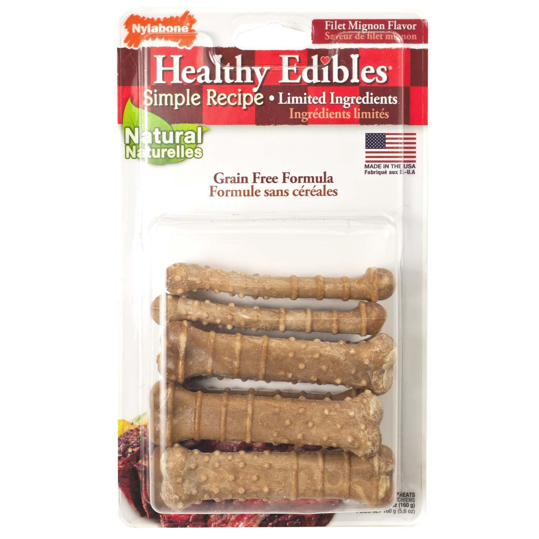 Nylabone Healthy Edibles Filet Mignon Dog Chews