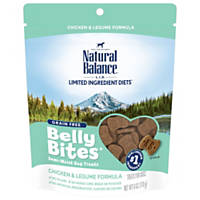 Natural Balance Belly Bites Grain Free Semi-Moist Chicken & Legume Dog Treats