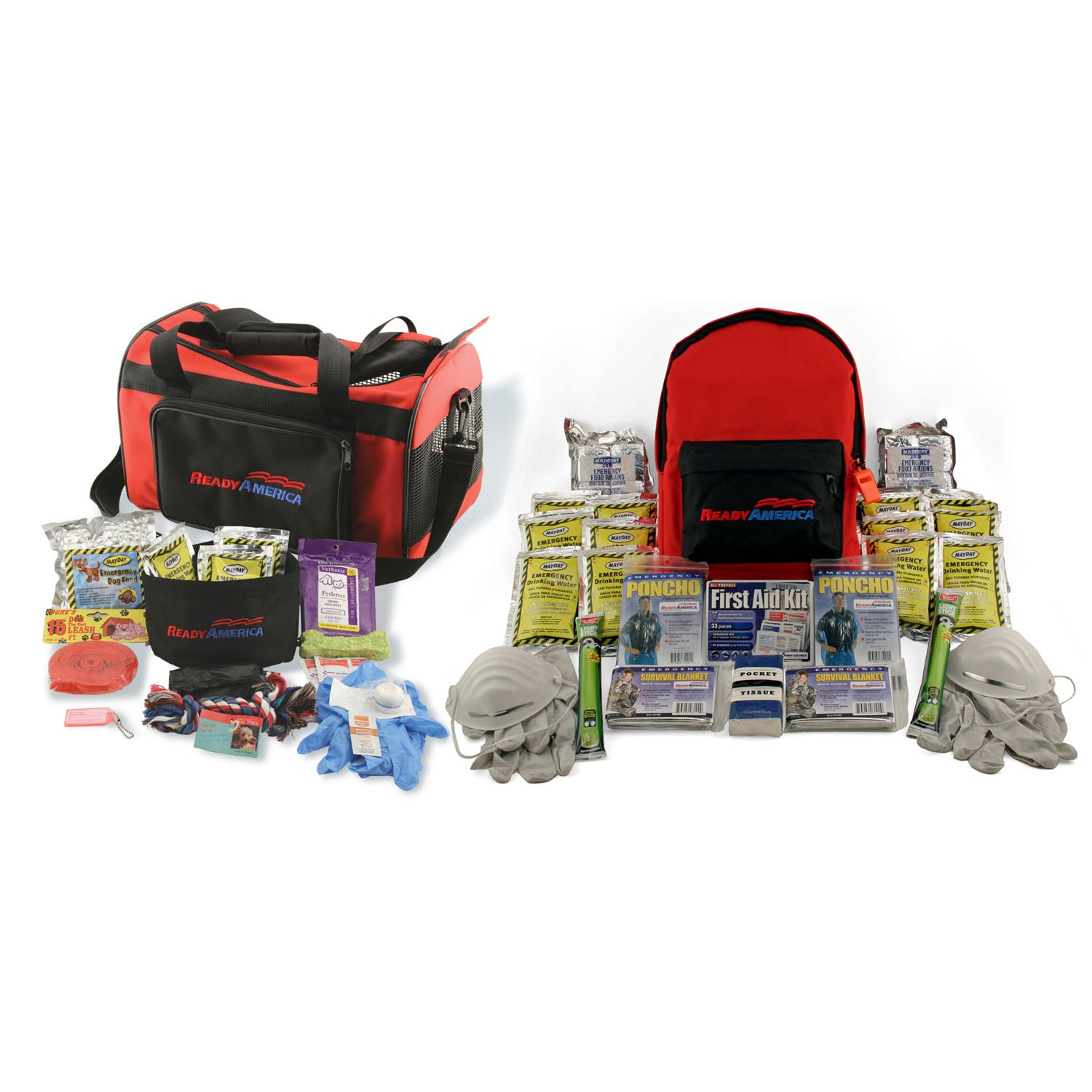 Ready America Grab 'n Go Small Dog and Two Person 3 Day Emergency Kit