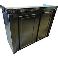 R&J Enterprises 48X18 Black Oak Empire Reef Series 75/90/110 Cabinet