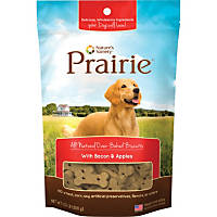 Nature's Variety Prairie Oven Baked Bacon & Apples Dog Biscuits